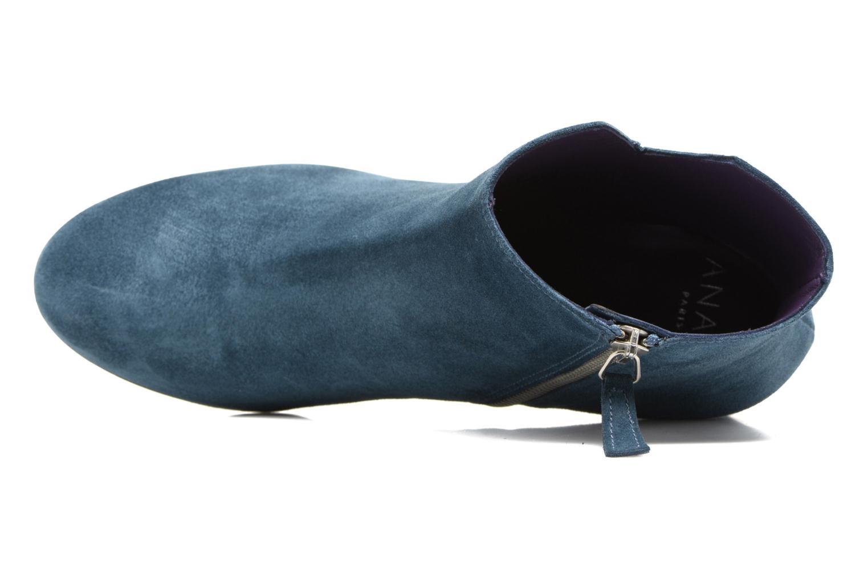 Bottines et boots Anaki Virgin Bleu vue gauche