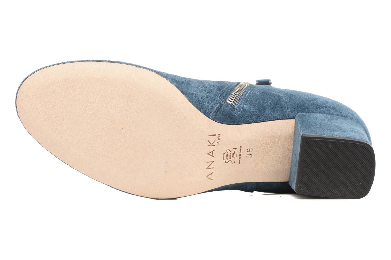 Bottines et boots Anaki Virgin Bleu vue haut