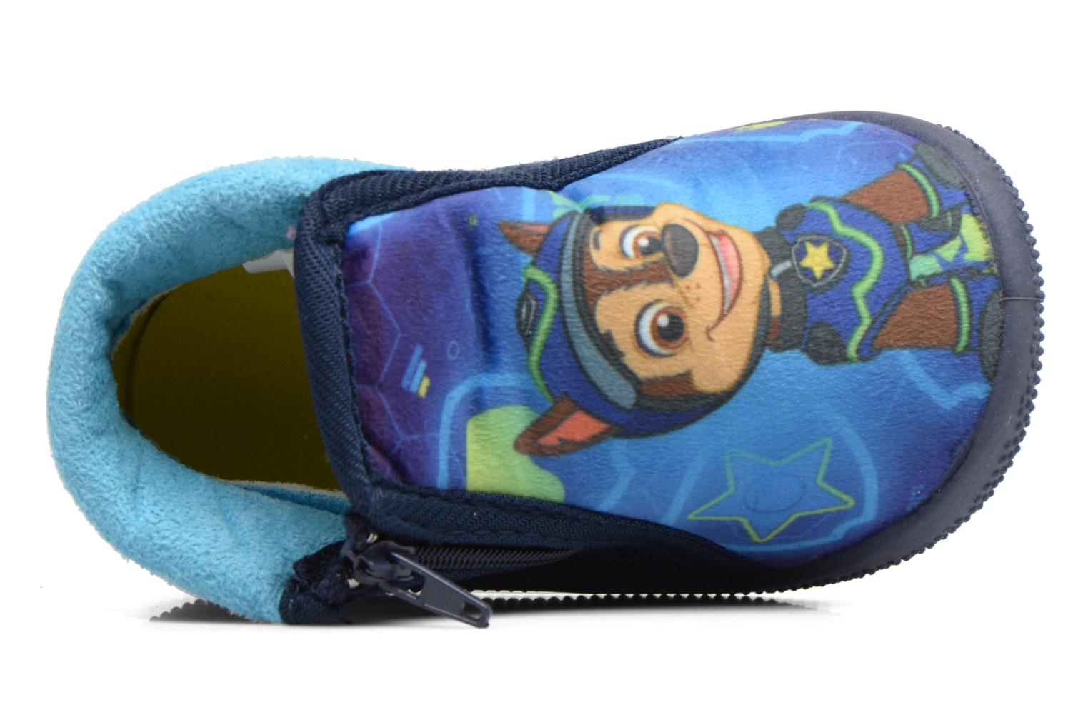 Slippers Pat Patrouille Soni Blue view from the left