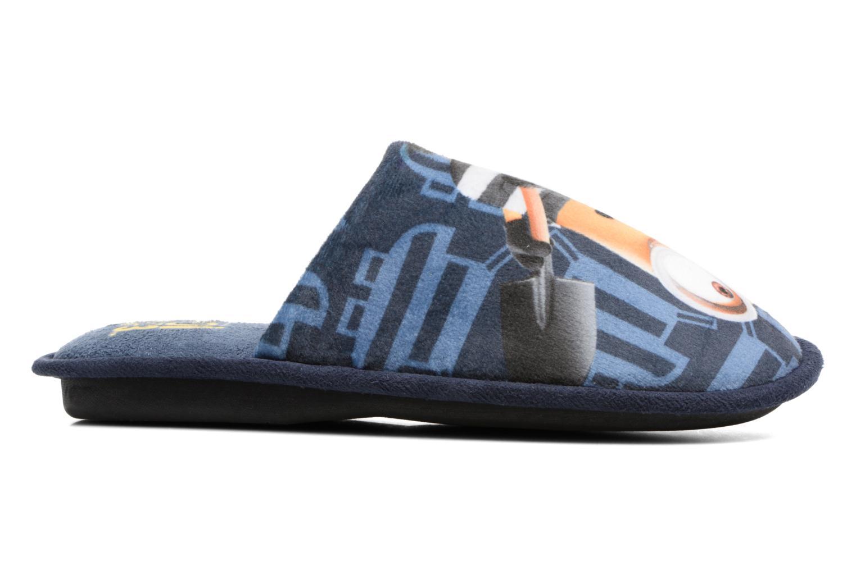 Chaussons Minions Sting Bleu vue droite