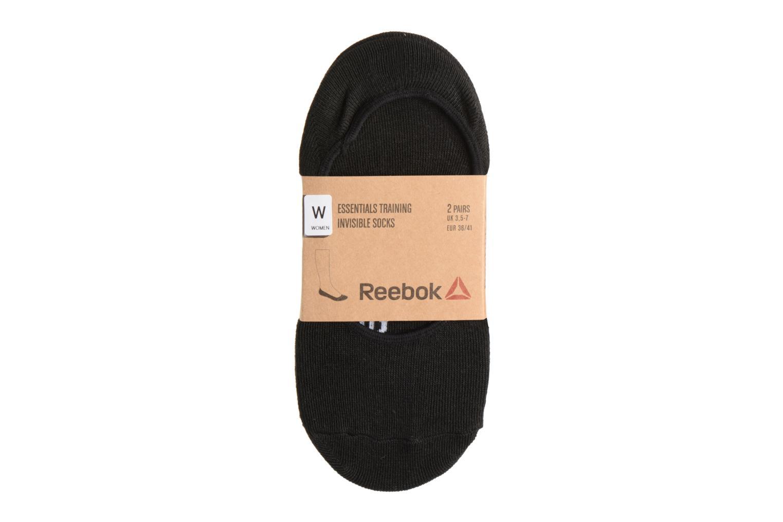 Chaussettes et collants Reebok Chaussettes Footie Lot de 2 Noir vue portées chaussures