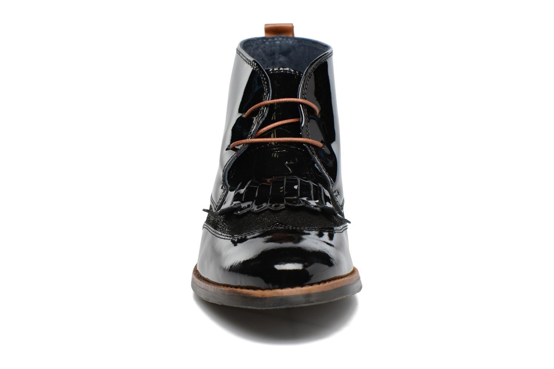 Chaussures à lacets Georgia Rose Nougat Noir vue portées chaussures