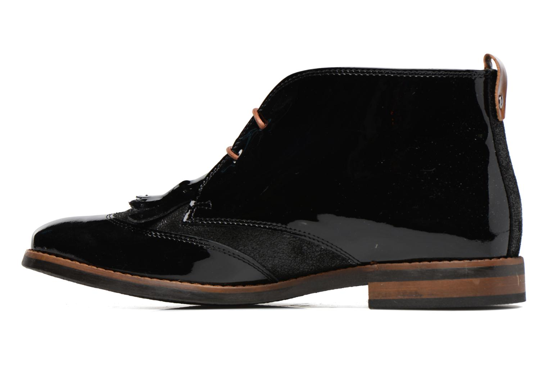 Chaussures à lacets Georgia Rose Nougat Noir vue face