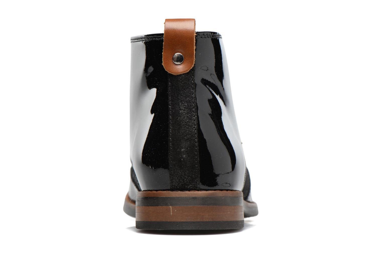 Chaussures à lacets Georgia Rose Nougat Noir vue droite
