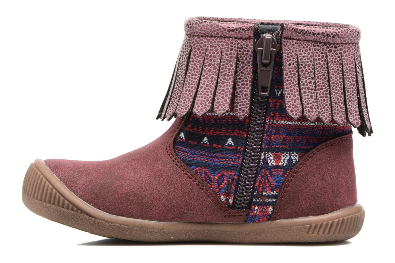 Stiefeletten & Boots NA! Aria weinrot ansicht von vorne