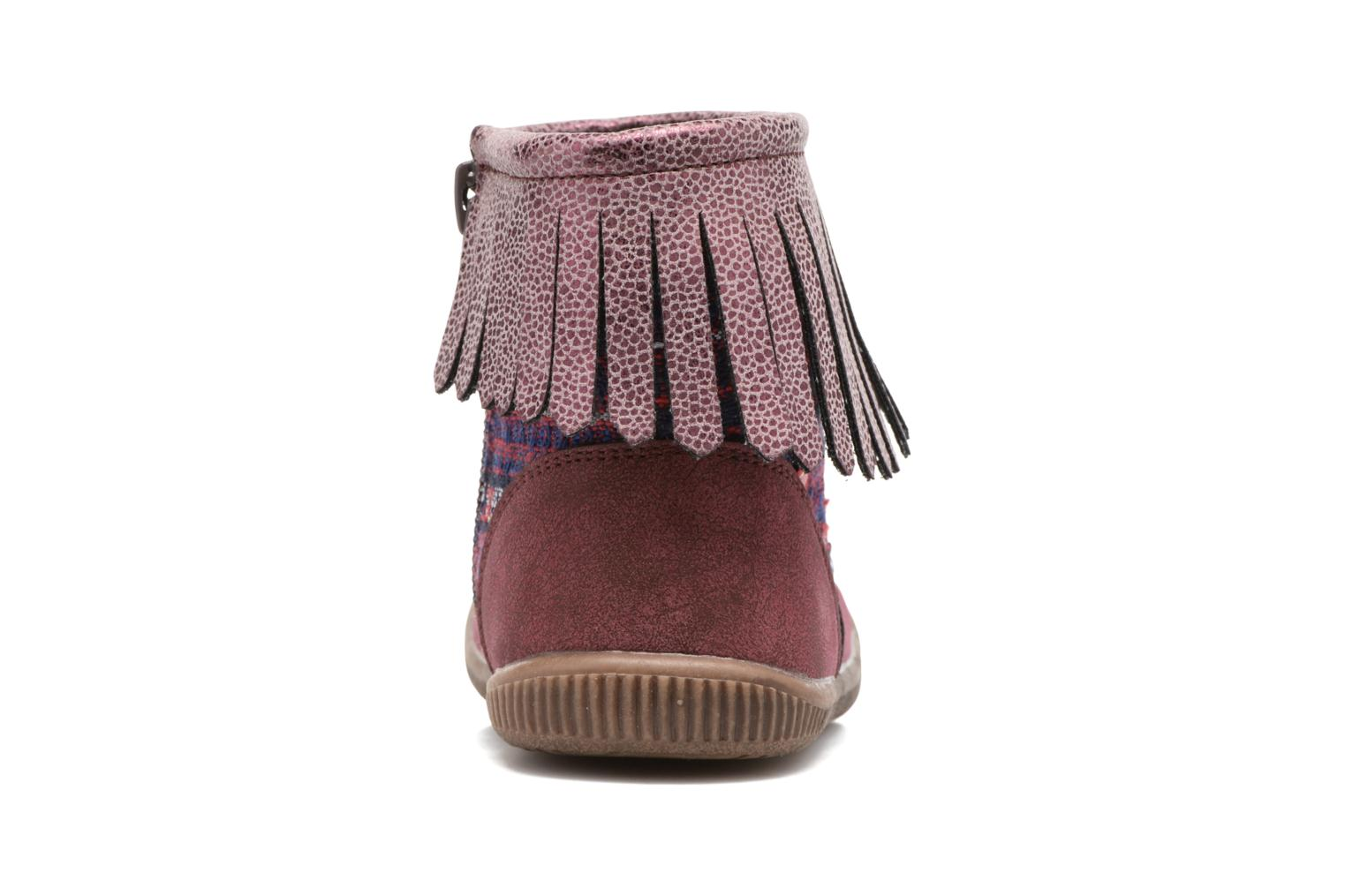 Ankle boots NA! Aria Burgundy view from the right