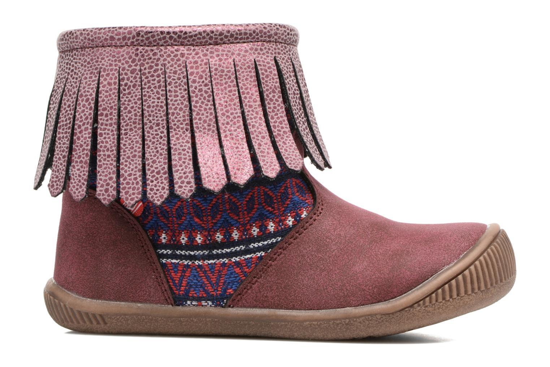 Stiefeletten & Boots NA! Aria weinrot ansicht von hinten