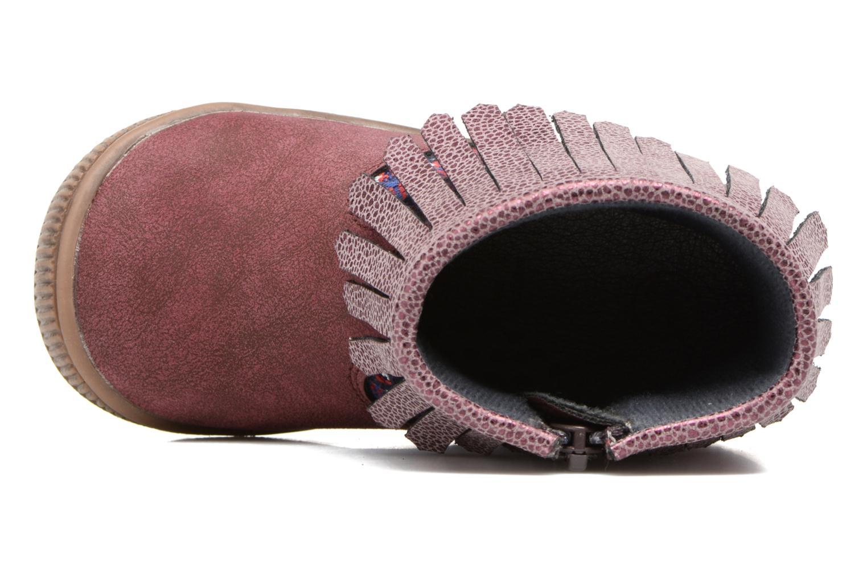 Stiefeletten & Boots NA! Aria weinrot ansicht von links