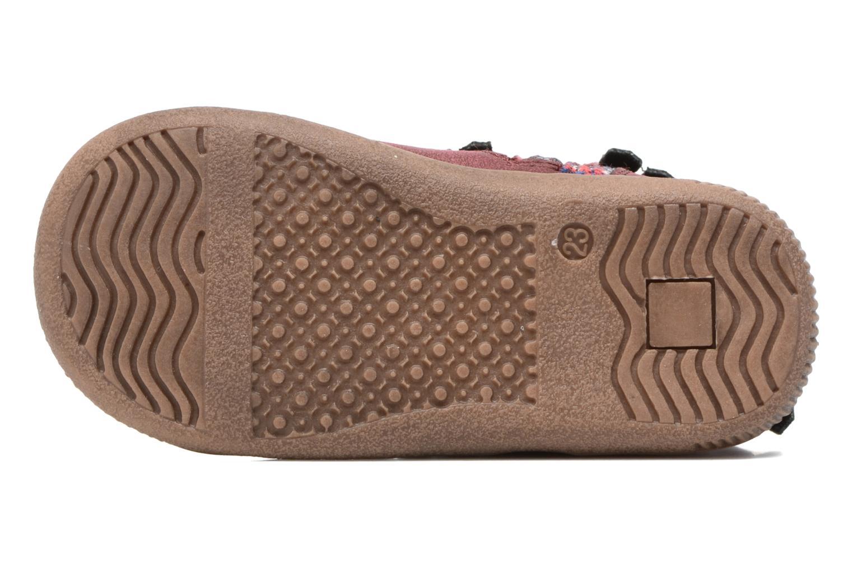Stiefeletten & Boots NA! Aria weinrot ansicht von oben