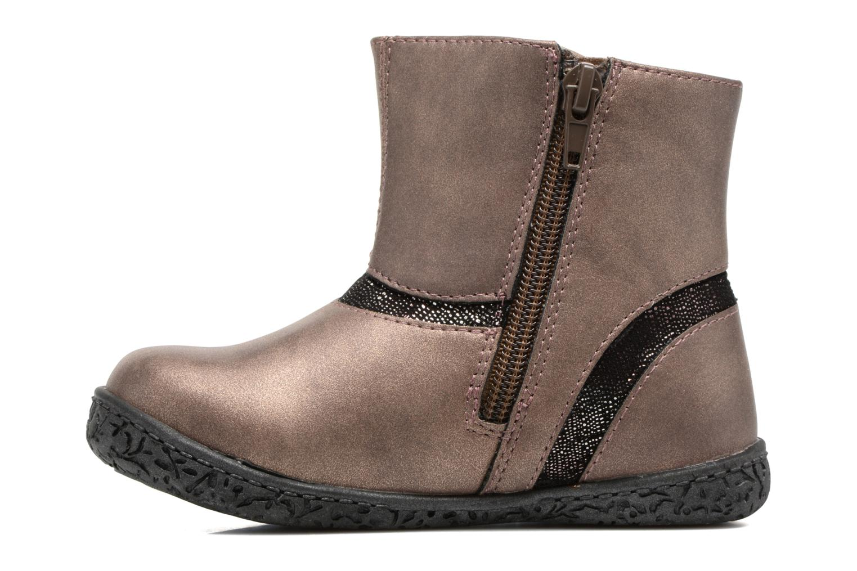 Bottines et boots NA! Anatoli Or et bronze vue face
