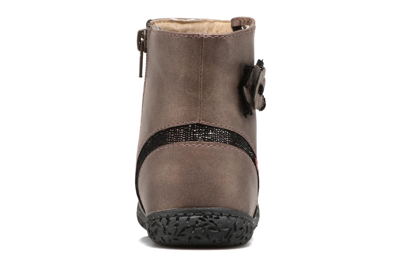 Bottines et boots NA! Anatoli Or et bronze vue droite