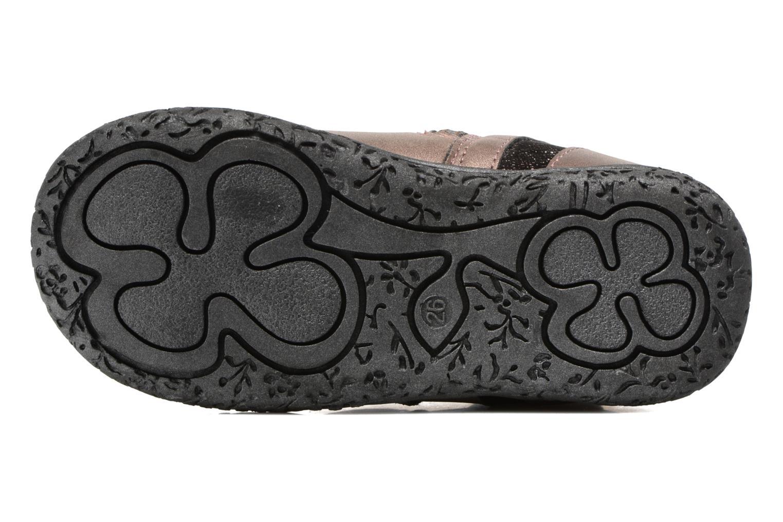 Bottines et boots NA! Anatoli Or et bronze vue haut
