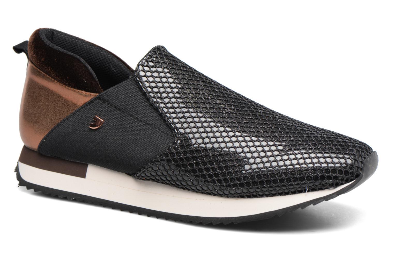 Loafers Gioseppo Loune Sort detaljeret billede af skoene