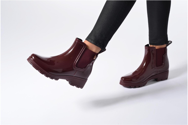 Bottines et boots Gioseppo Emie Noir vue bas / vue portée sac