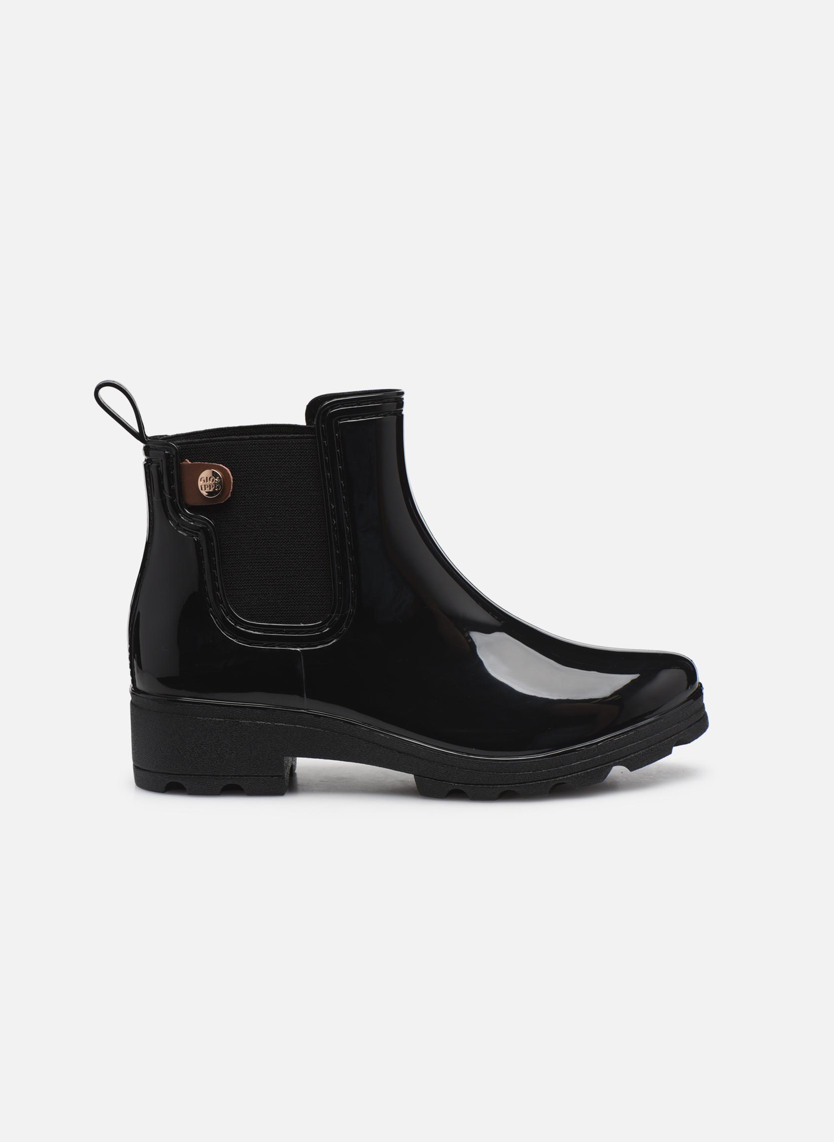 Bottines et boots Gioseppo Emie Noir vue derrière