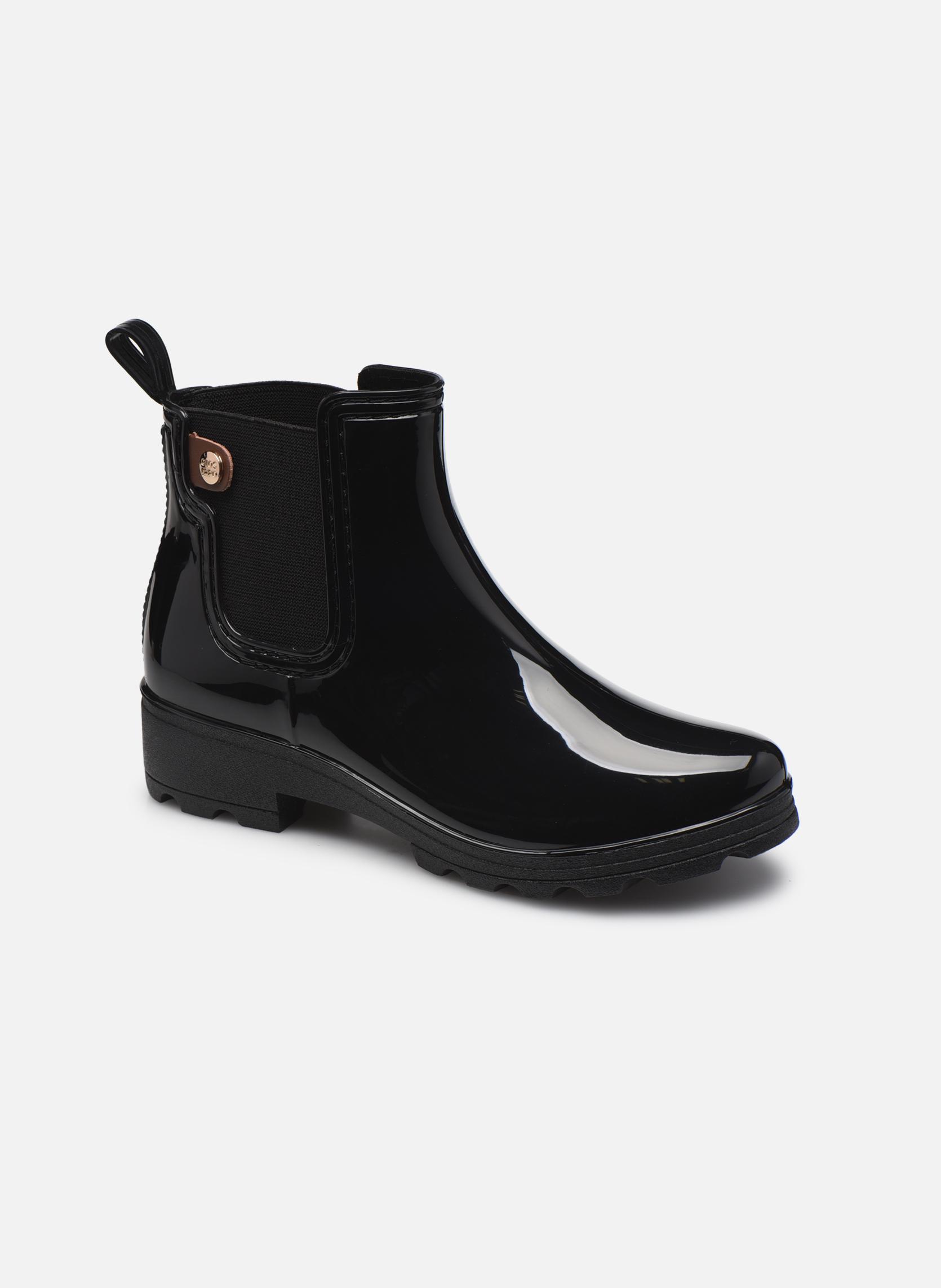 Bottines et boots Gioseppo Emie Noir vue détail/paire