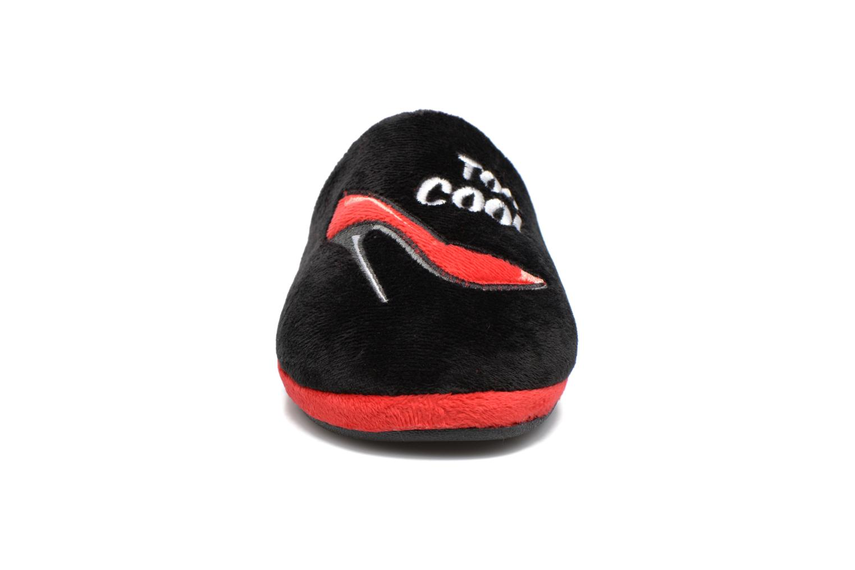 Chaussons Gioseppo Sekushi Noir vue portées chaussures