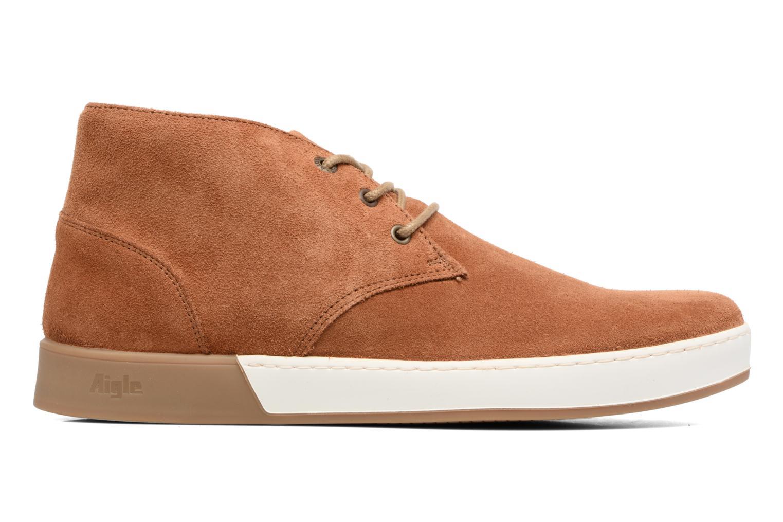 Chaussures à lacets Aigle Lonriver Mid Marron vue derrière