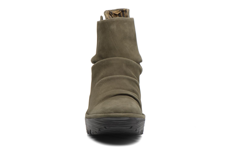Bottines et boots Fly London YOMI Vert vue portées chaussures