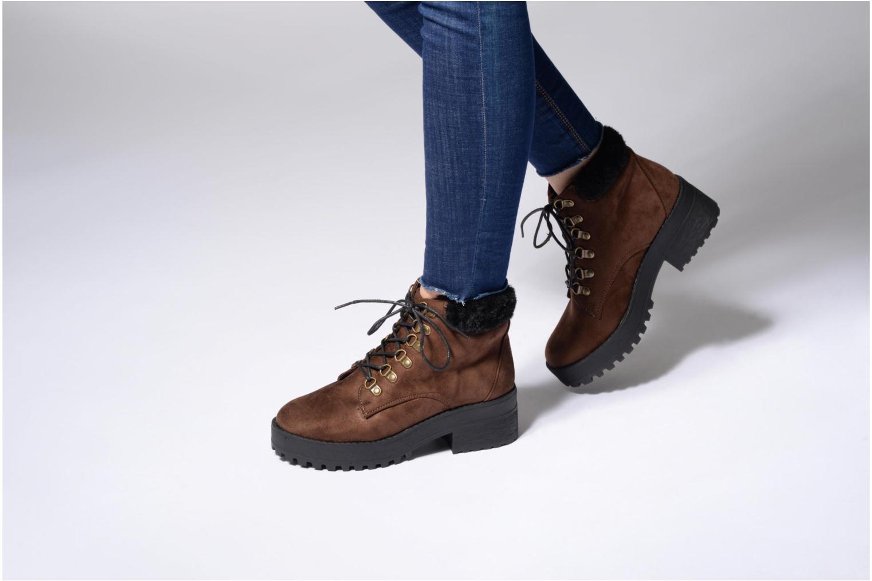 Bottines et boots Coolway Moscu Marron vue bas / vue portée sac