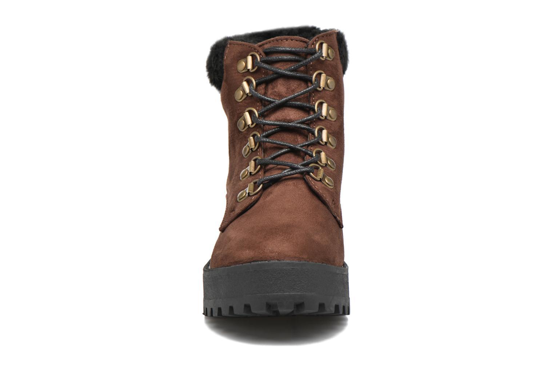 Bottines et boots Coolway Moscu Marron vue portées chaussures