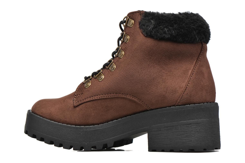 Boots en enkellaarsjes Coolway Moscu Bruin voorkant