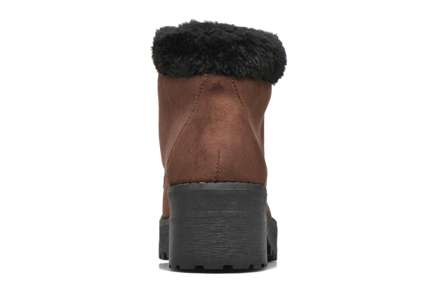 Ankle boots Coolway Moscu Brown view from the right