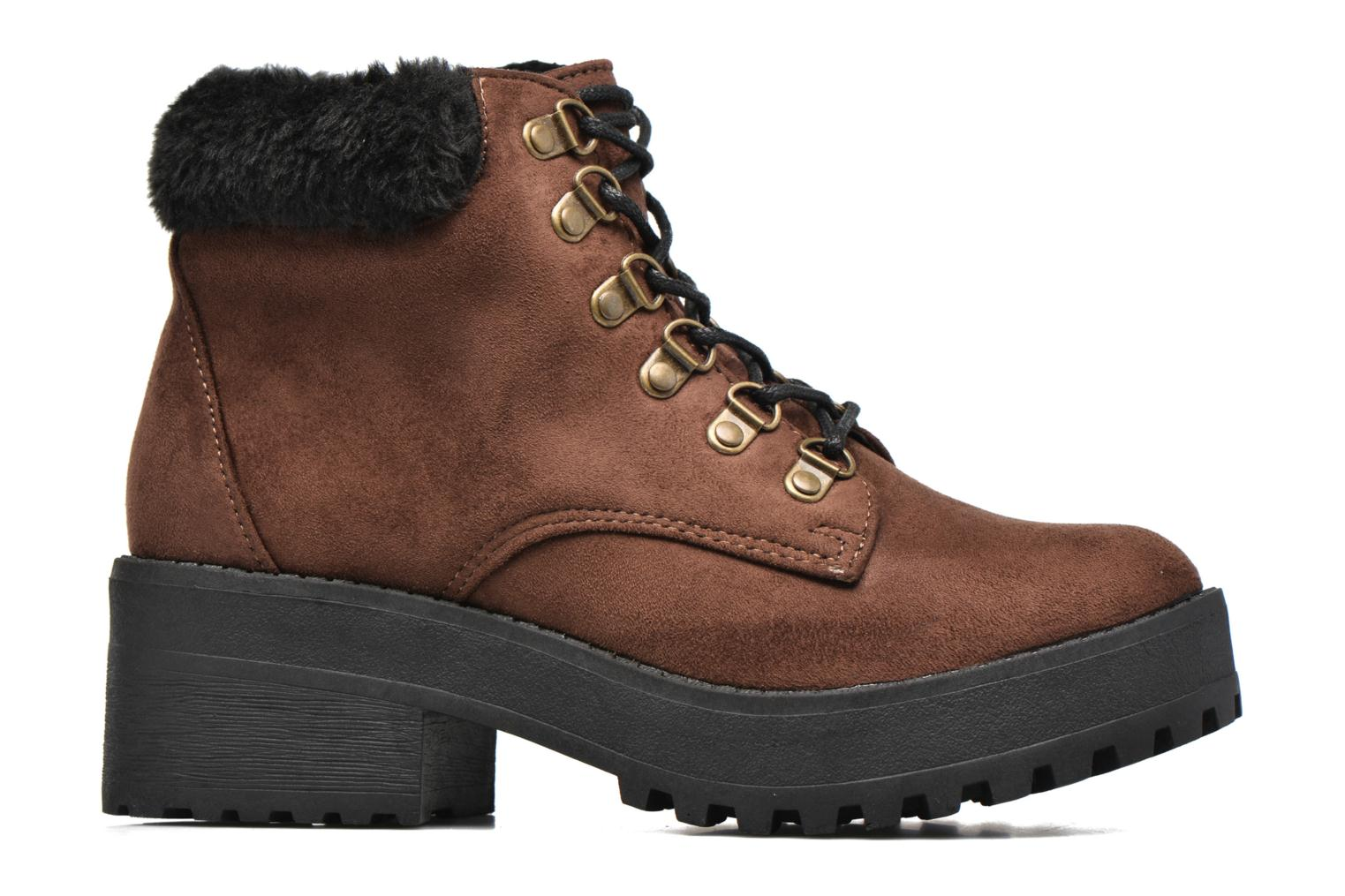 Ankle boots Coolway Moscu Brown back view