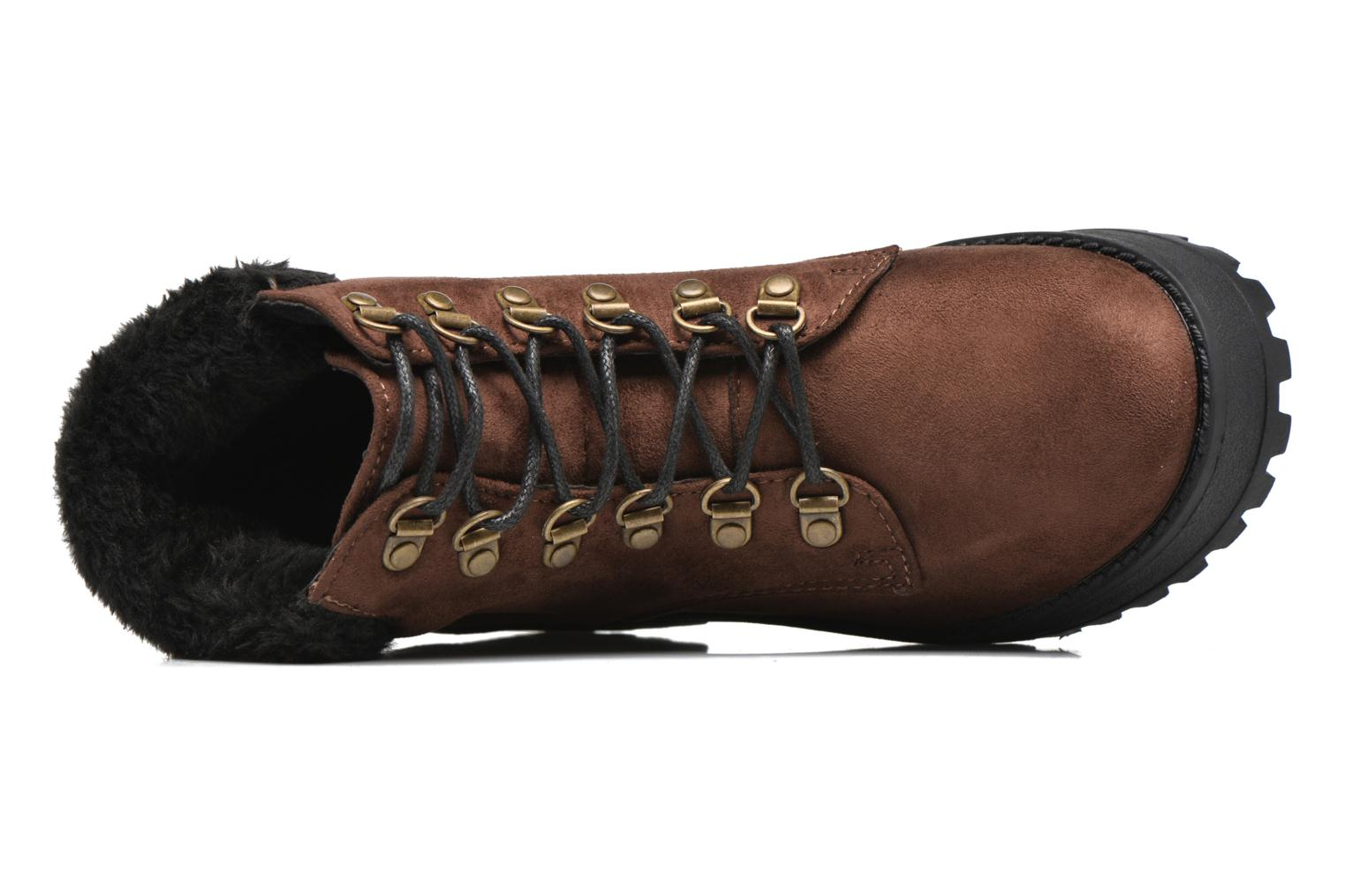Ankle boots Coolway Moscu Brown view from the left