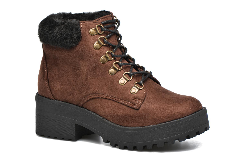 Boots en enkellaarsjes Coolway Moscu Bruin detail