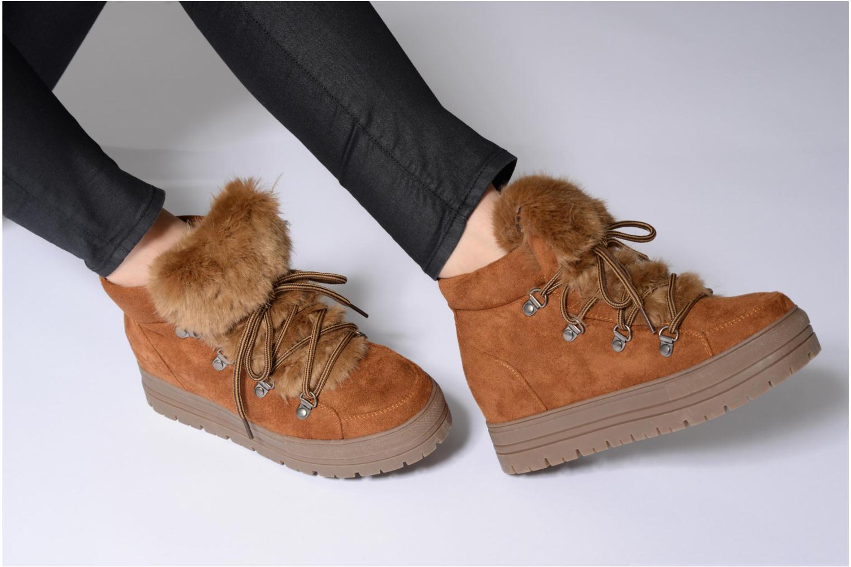 Bottines et boots Coolway Oslo Marron vue bas / vue portée sac