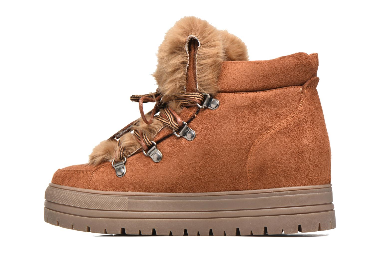 Bottines et boots Coolway Oslo Marron vue face