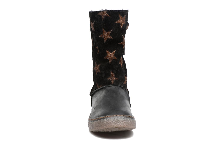 Bottes Achile Dubrovnik Noir vue portées chaussures