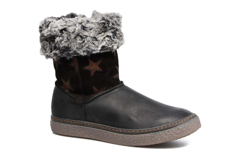 Stiefel Achile Dubrovnik schwarz detaillierte ansicht/modell