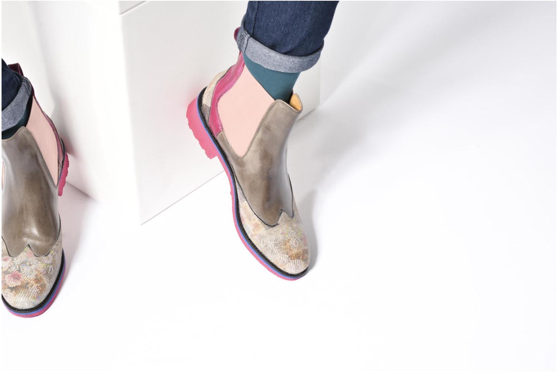 Bottines et boots Melvin & Hamilton Amelie 13 Rose vue bas / vue portée sac