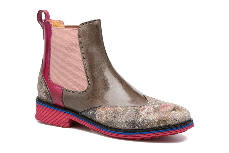 Bottines et boots Melvin & Hamilton Amelie 13 Rose vue détail/paire
