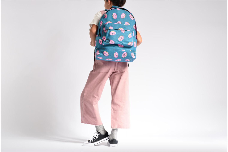 Scolaire Mi-Pac Premium Print Backpack Bleu vue haut
