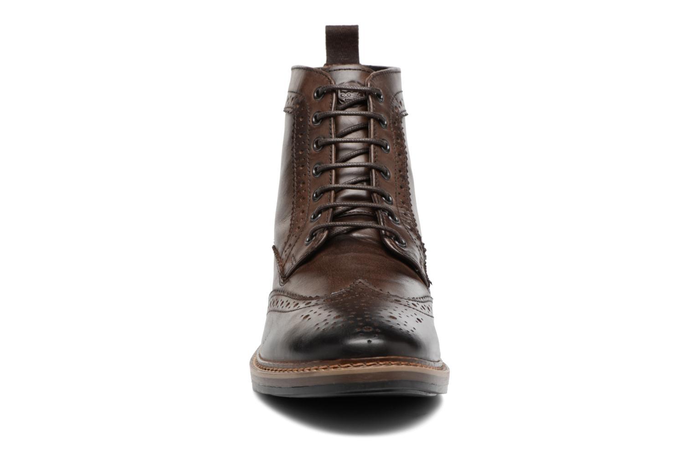 Bottines et boots Base London Hurst Marron vue portées chaussures