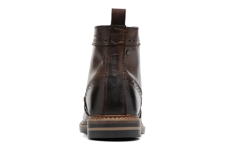 Bottines et boots Base London Hurst Marron vue droite