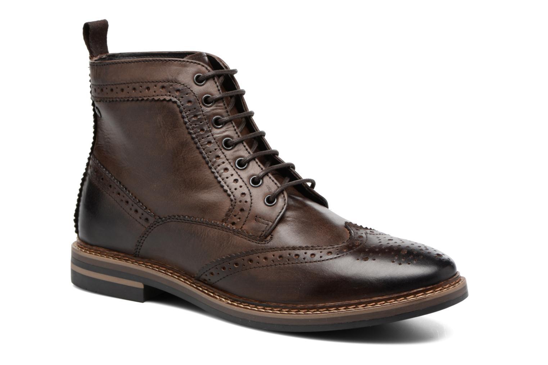 Bottines et boots Base London Hurst Marron vue détail/paire