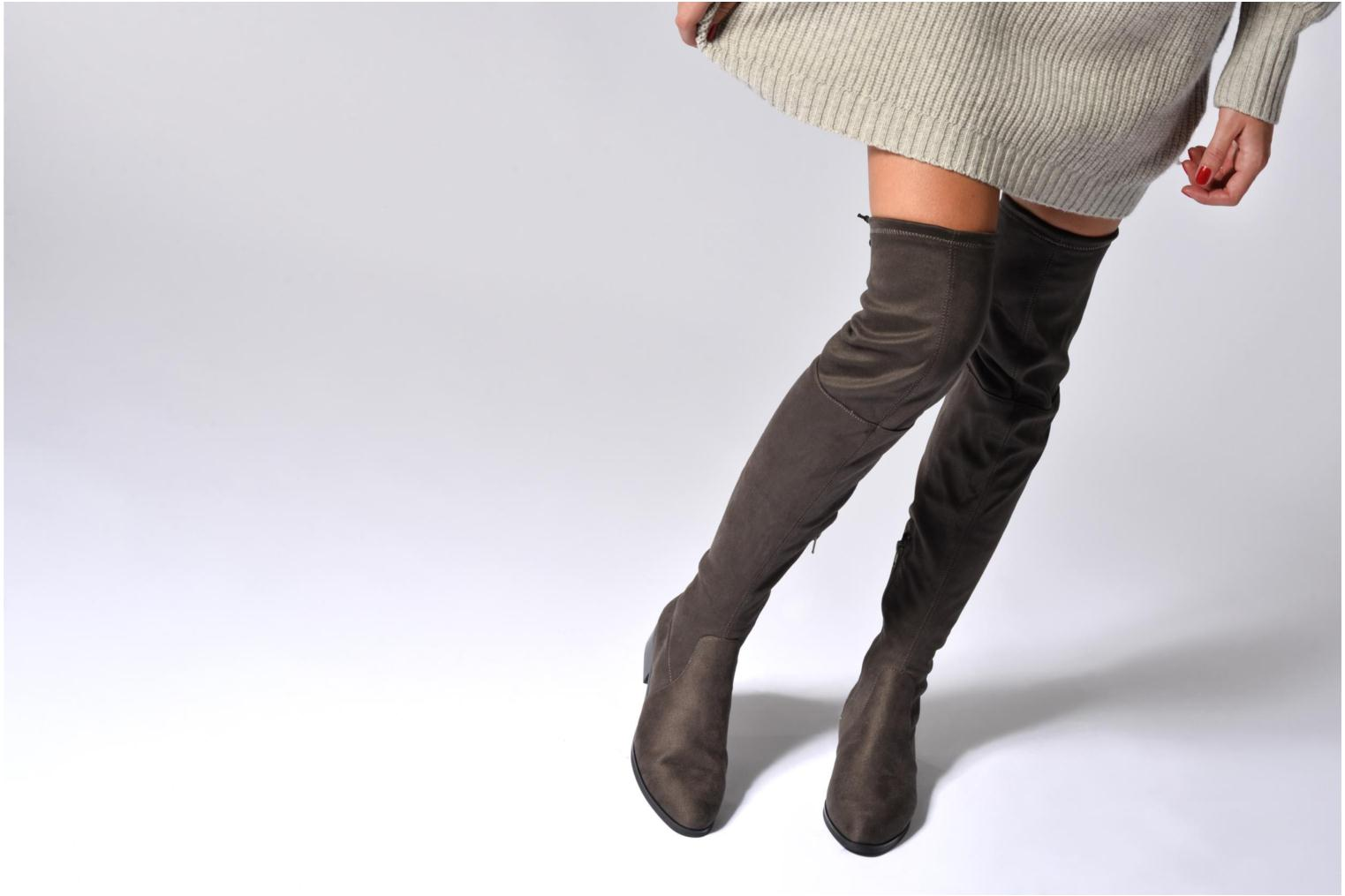 Boots & wellies Jonak Berry Grey view from underneath / model view