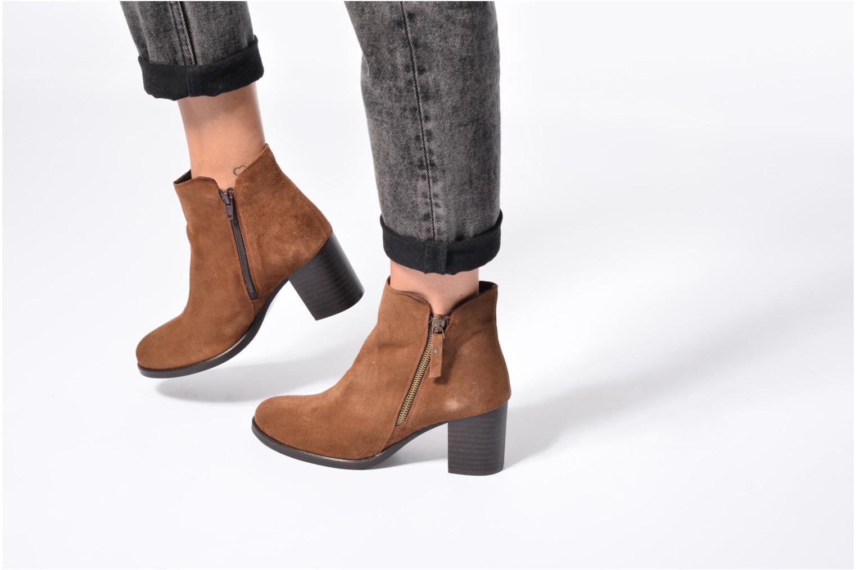 Bottines et boots Jonak Titou Noir vue bas / vue portée sac