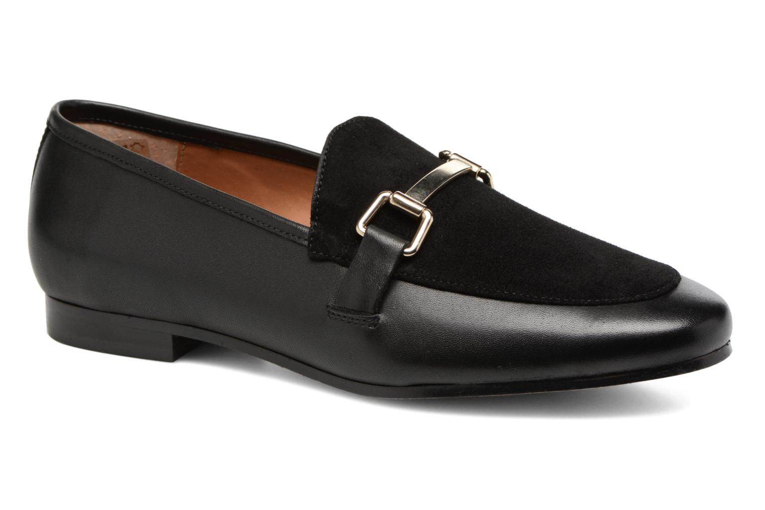 Loafers Jonak Sempré Black detailed view/ Pair view