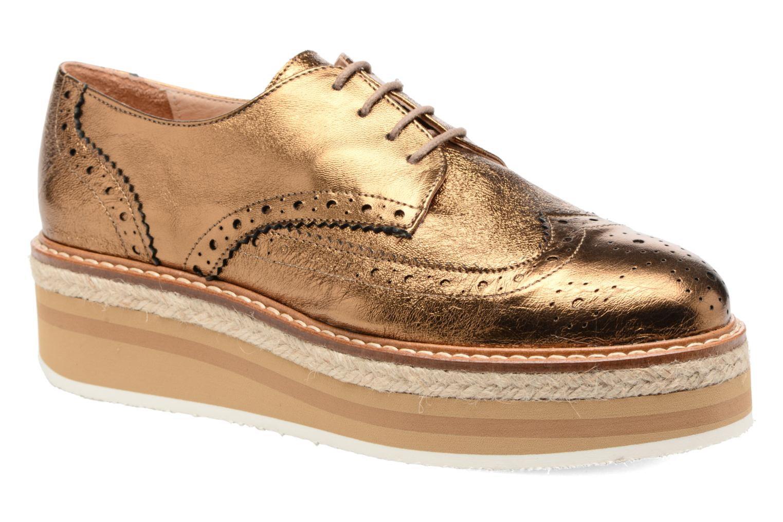 Grandes descuentos últimos zapatos Jonak Allo (Oro y bronce) - Zapatos con cordones Descuento