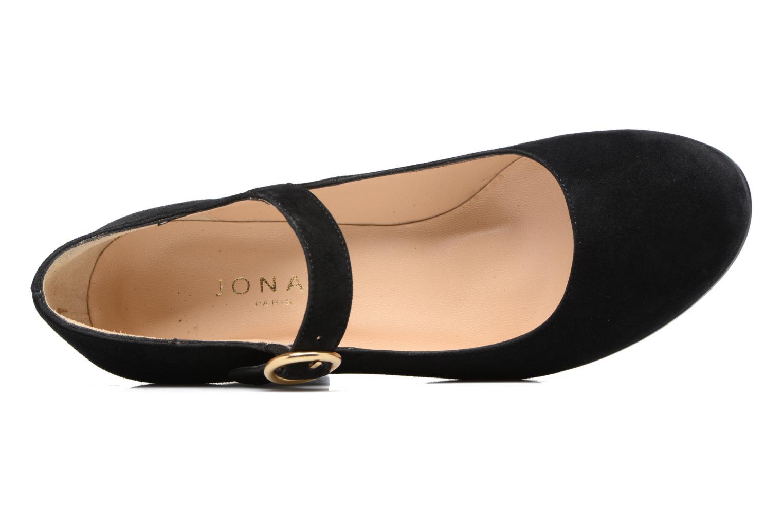 Zapatos de tacón Jonak 11649 Negro vista lateral izquierda