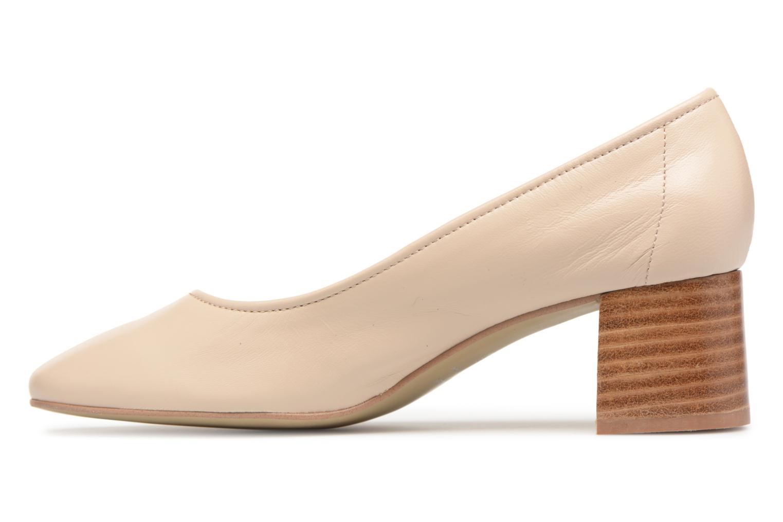 Zapatos de tacón Jonak Aura Beige vista de frente