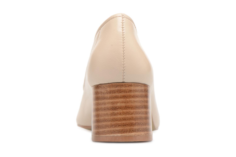 Zapatos de tacón Jonak Aura Beige vista lateral derecha