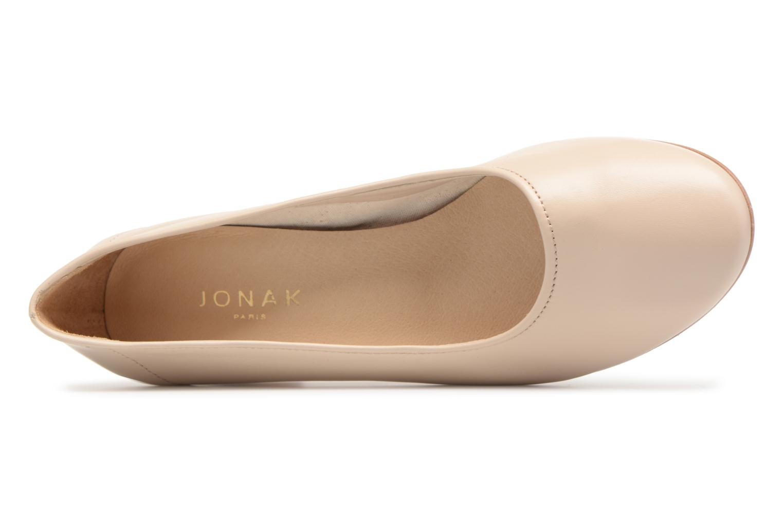 Zapatos de tacón Jonak Aura Beige vista lateral izquierda