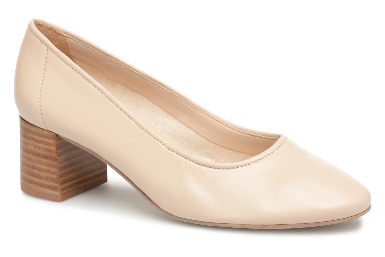 High heels Jonak Aura Beige detailed view/ Pair view
