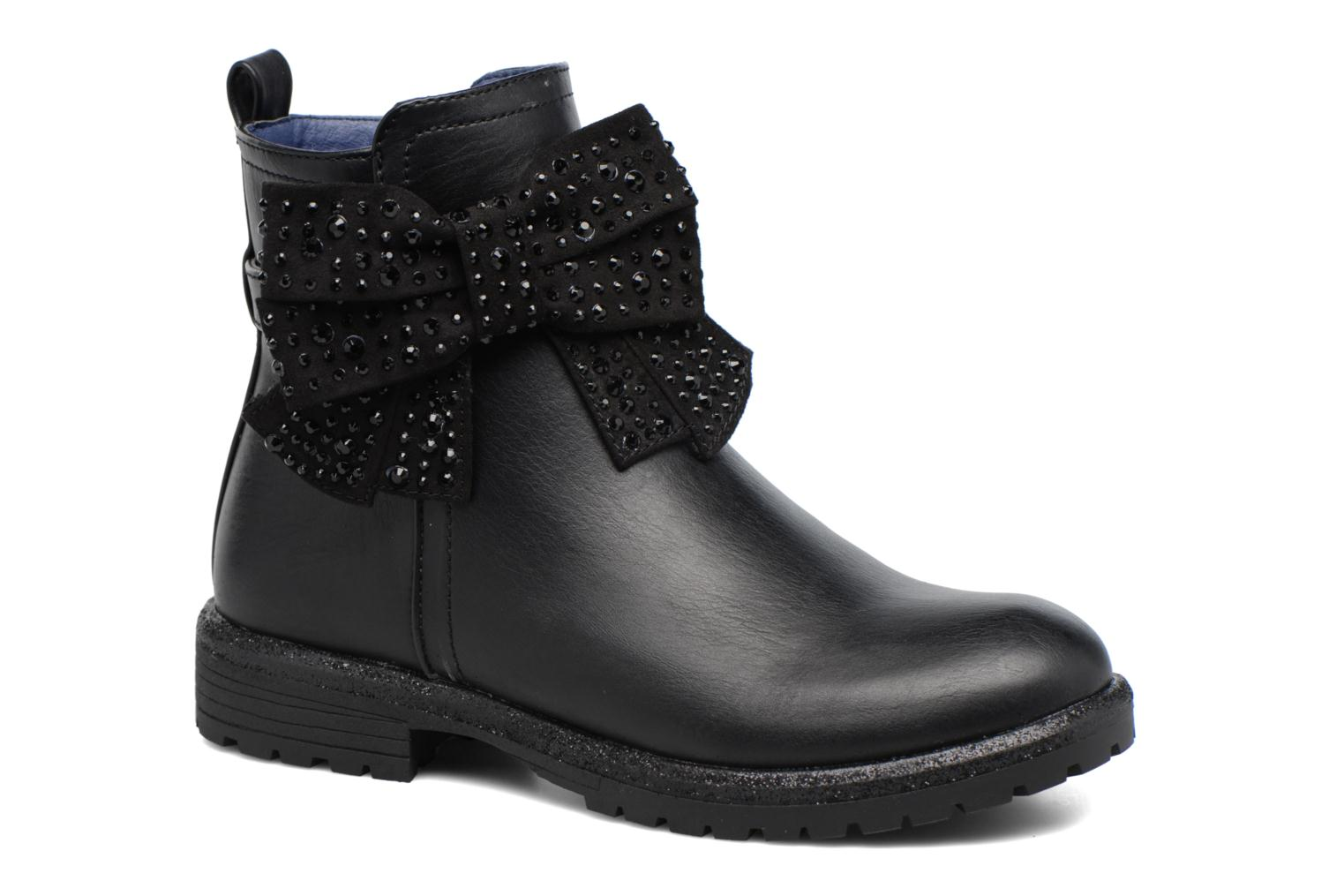 Ankle boots Gioseppo 41495 Black detailed view/ Pair view